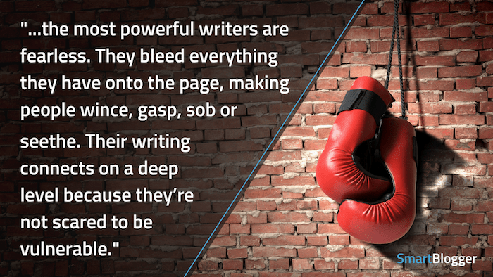 powerful writers are fearless