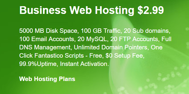 SiteGround Business Web Hosting