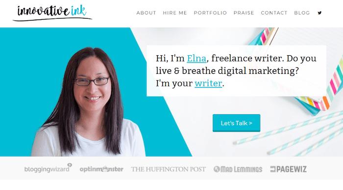 Elna Cain - Servizi di scrittura freelance