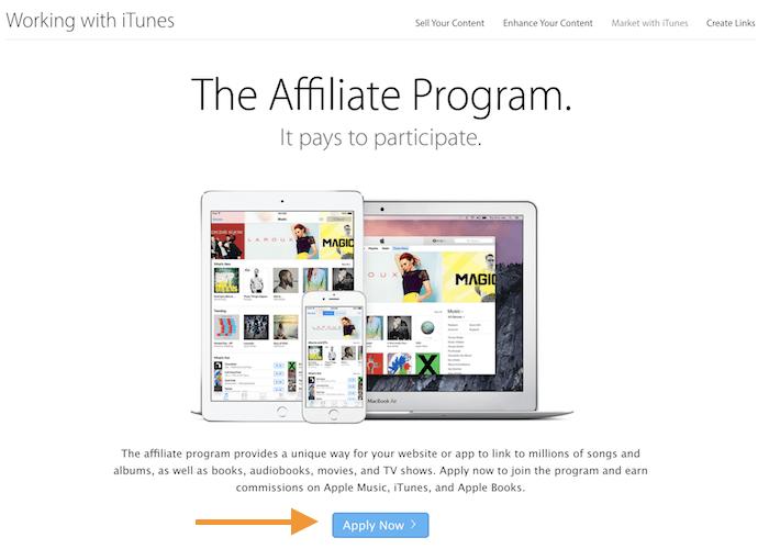 programma di affiliazione iTunes