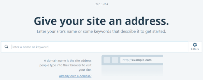 WordPress.com - Give your site an address