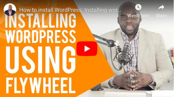 Flywheel WordPress Tutorial