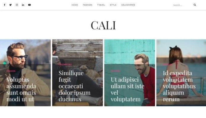 free wordpress themes cali