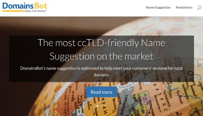 domainsbot del generatore di nomi di blog
