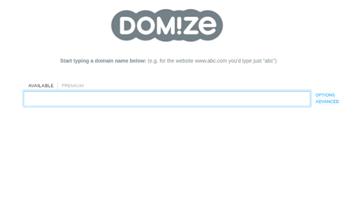 blog name generator domize