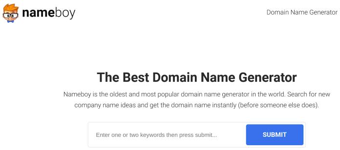 blog name generator nameboy