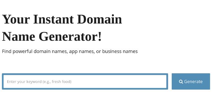 blog nome generator softwarefindr
