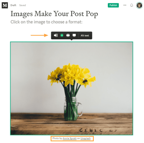 medium partner program add image flower