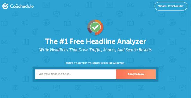 content marketing tools coschedule headline analyzer
