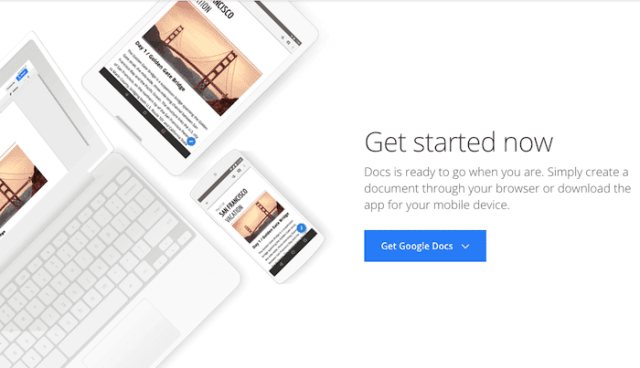 content marketing tools google docs