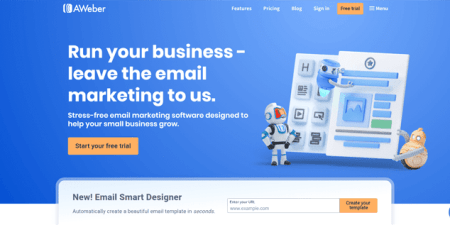 email marketing services aweber