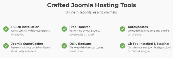 Joomla Hosting Tools