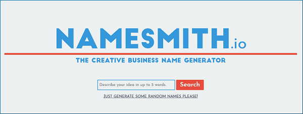Namesmith Tool