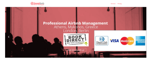 smartbnb.gr Direct Booking with Card payment!
