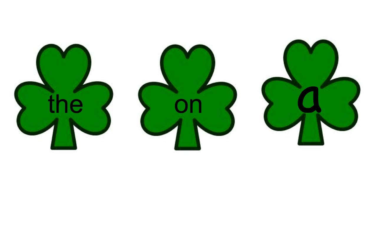 The Sight Word Smart Notebook Activity St Patrick S Day