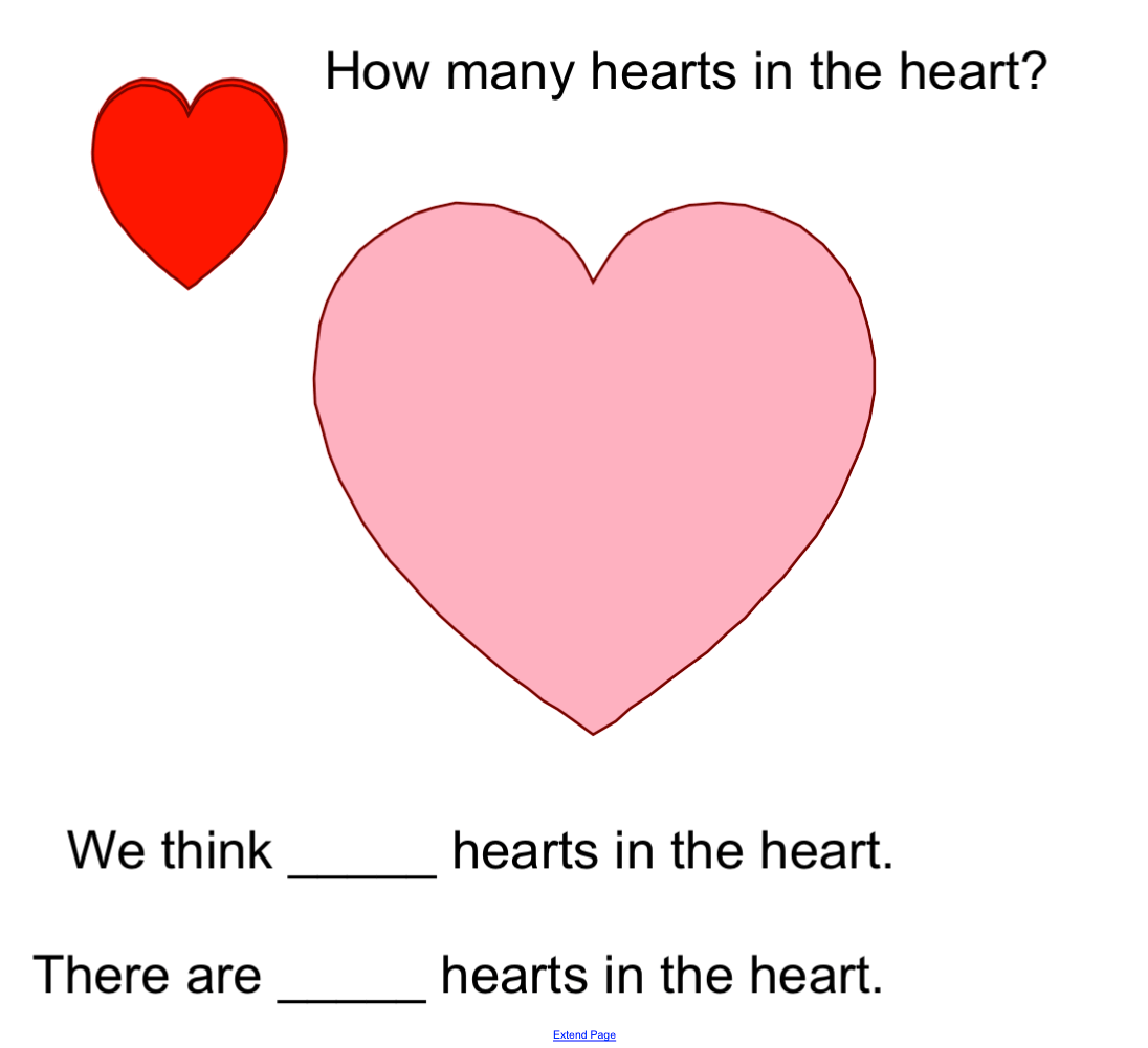 Valentine S Estimation Smart Notebook Smart Board Ideas