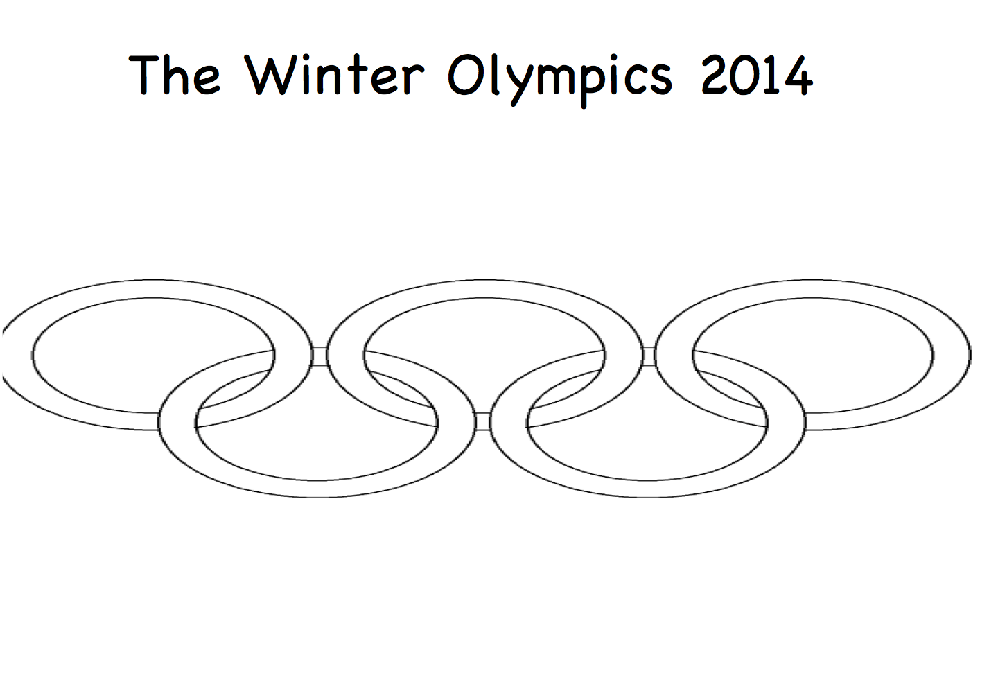 The Olympics Printable Colouring Book Smart Board Ideas