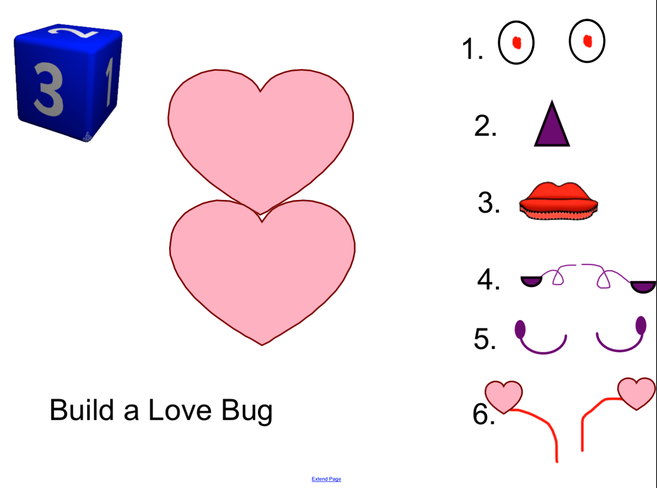 Build A Love Bug Numbers Game Smart Notebook Smart