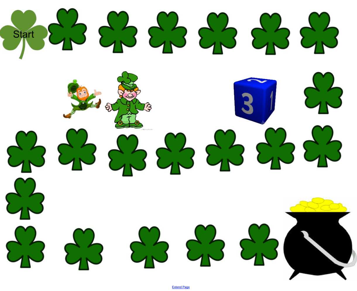 St Patrick S Day Game Board Smart Notebook Smart