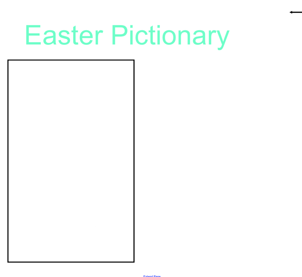 Easter Pictionary Smart Notebook Smart Board Ideas