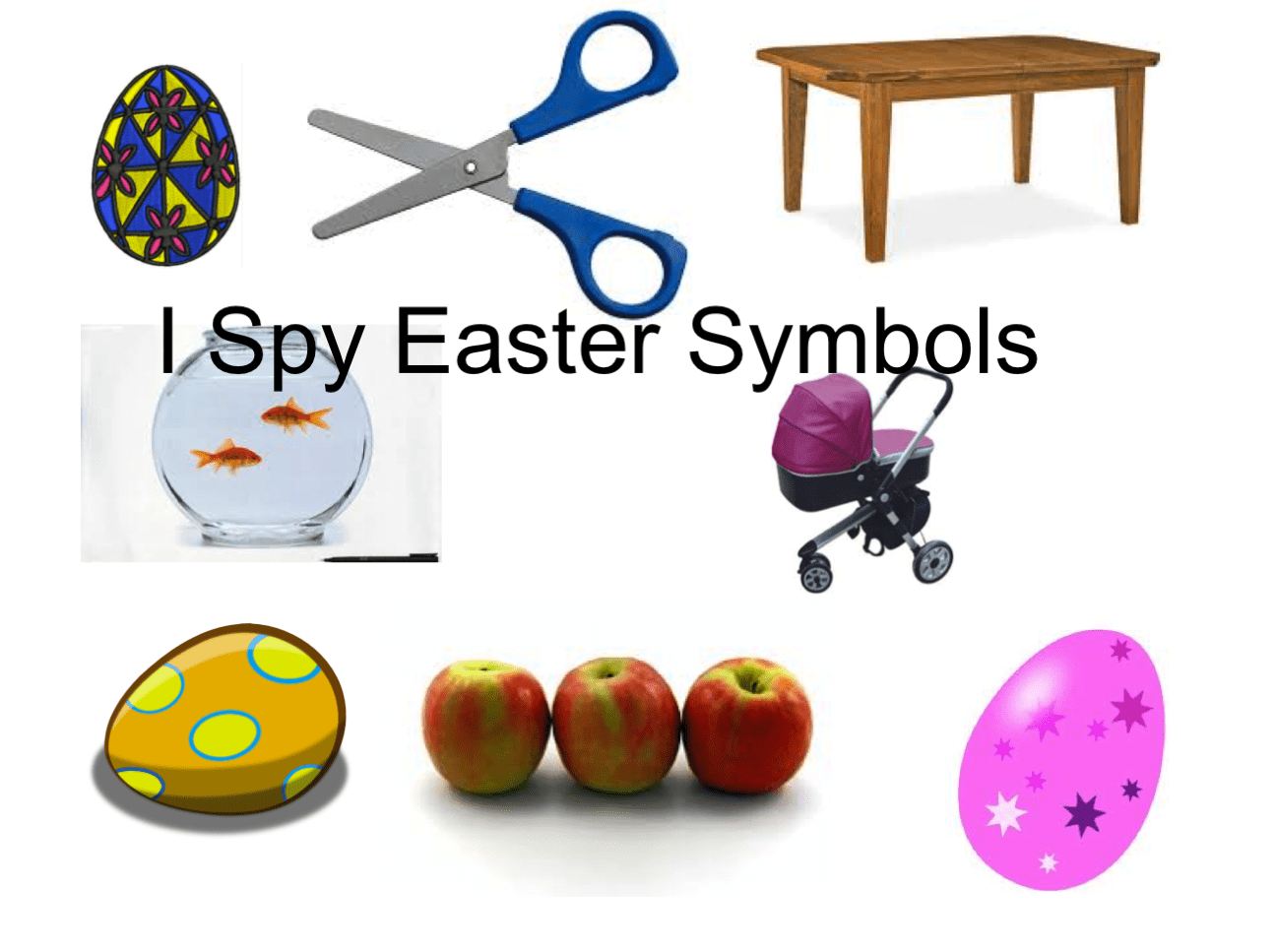 I Spy With My Little Eye For Easter Smart Notebook Smart Board Ideas