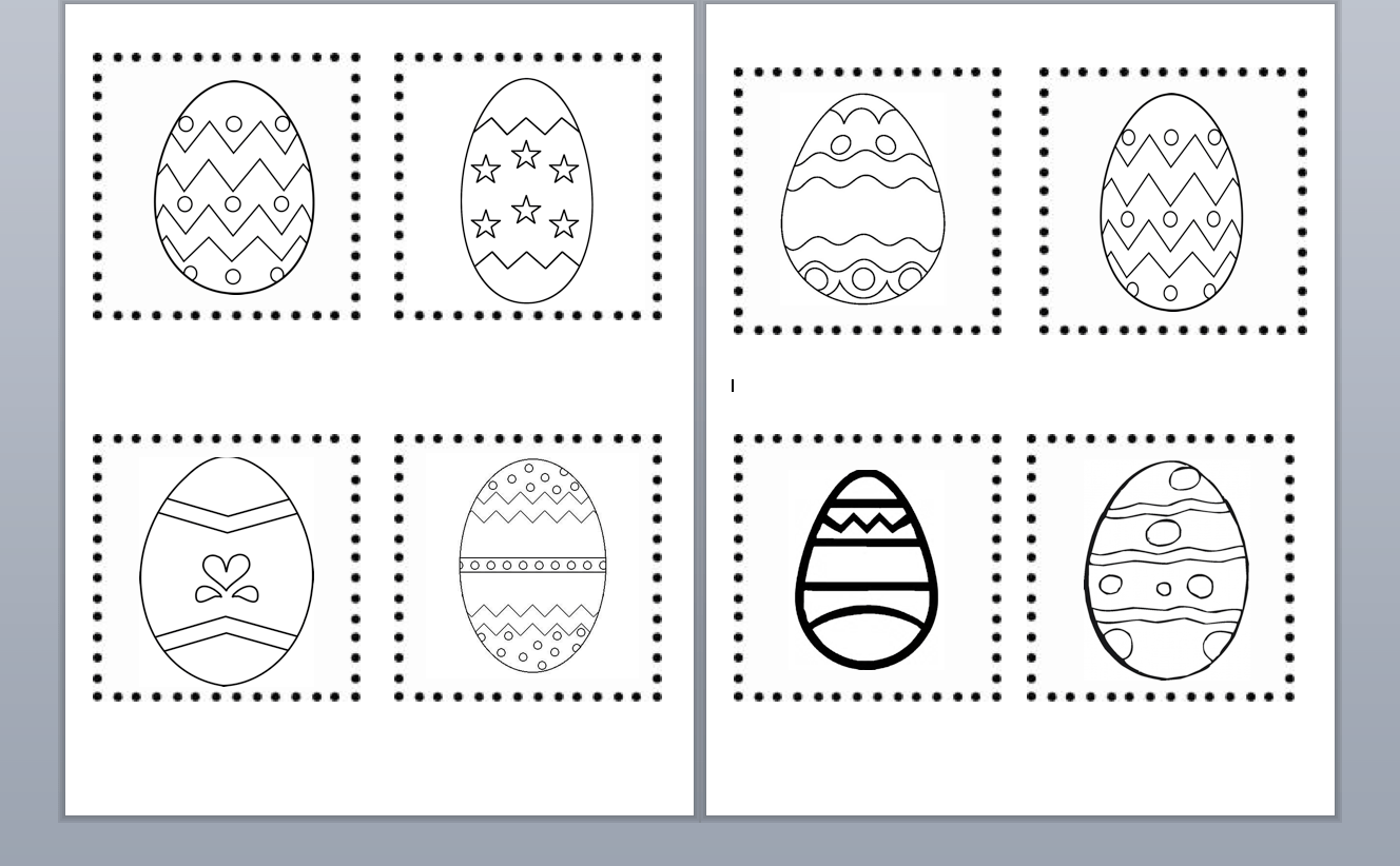 Easter Cutting Practice Worksheets Smart Board Ideas