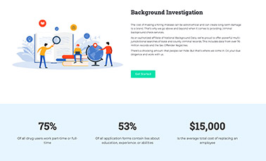 about data check page