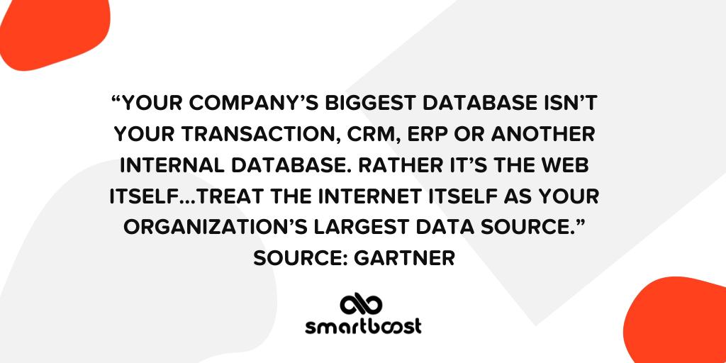Quote about data-driven marketing