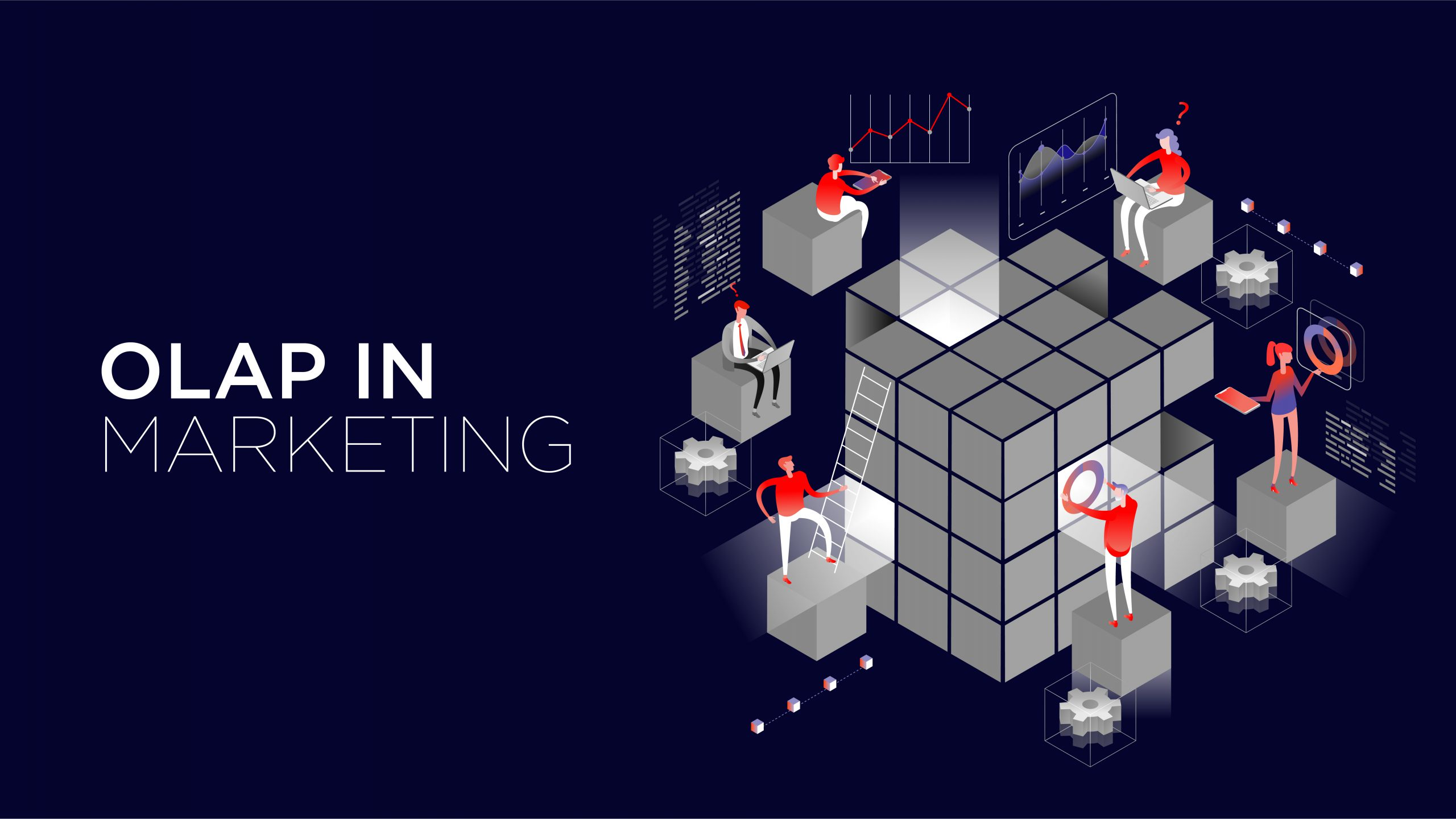 Graphic of OLAP in marketing