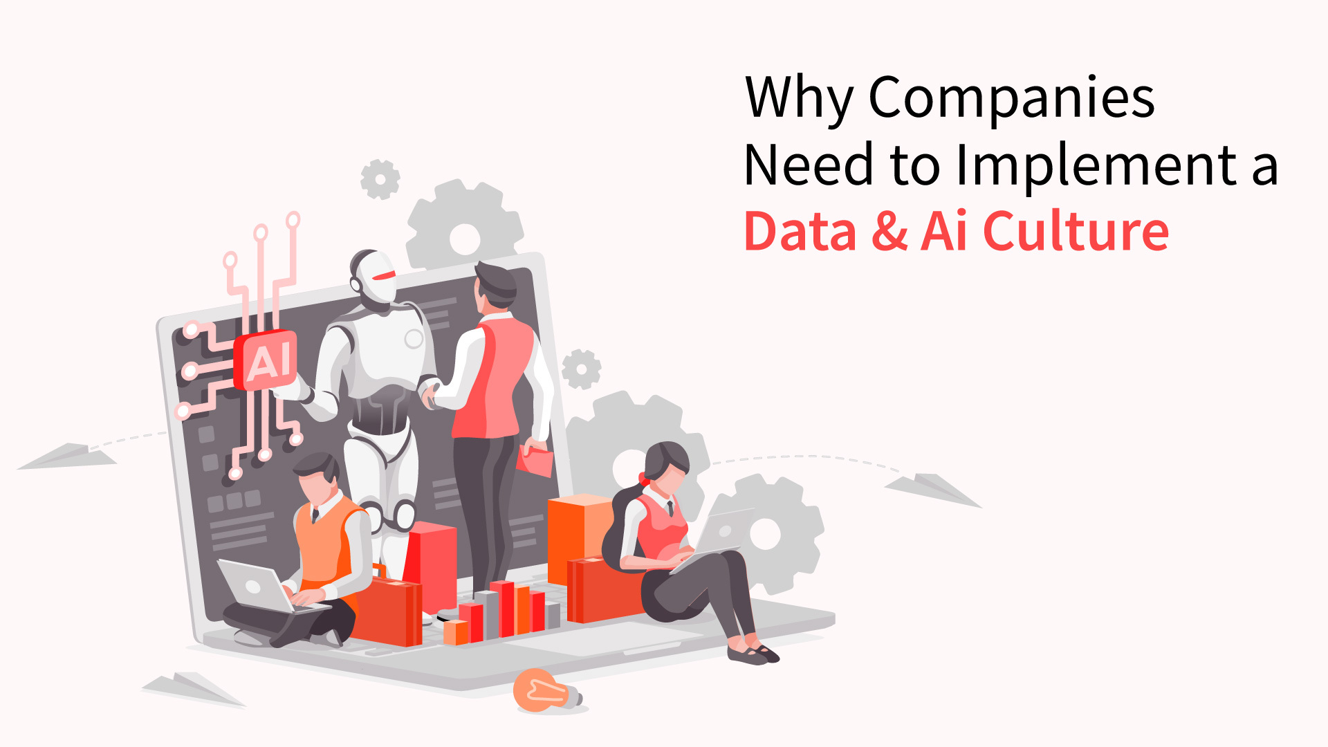 Implementing a data and AI culture