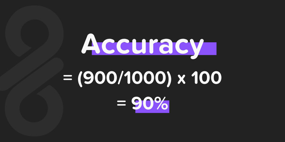 equation for accuracy