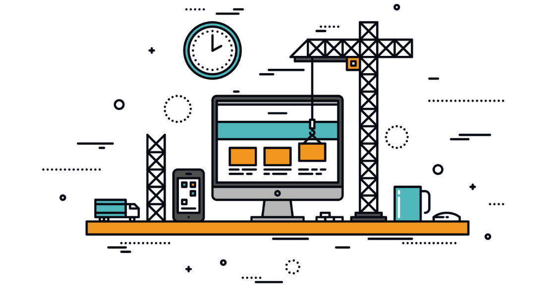 Building a website for construction companies