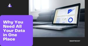 Computer displaying data