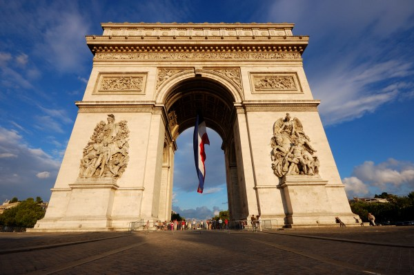 Arc De Triomphe Attraction