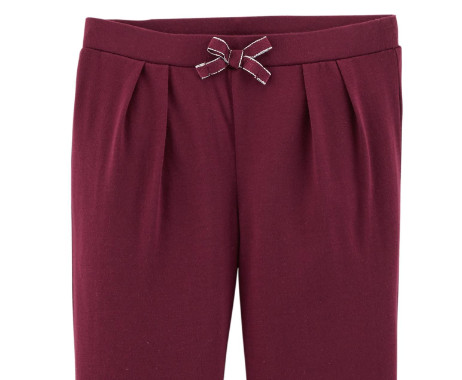 Pull-On Jersey Joggers Vino2