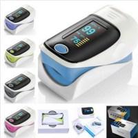 Ψηφιακό Παλμικό Οξύμετρο Δακτύλου και Καρδιακών Παλμών LCD OLED Pulse Oximeter