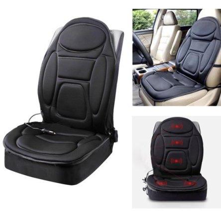 Θερμαινόμενο Κάλυμμα και Μασάζ 5 Σημείων για το Κάθισμα του Αυτοκινήτου Massage Cushion JB-616C