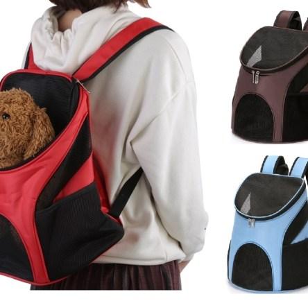 Σακίδιο Πλάτης Ταξιδιού Μεταφοράς Κατοικίδιων έως 5 Κιλά – Pet Carrier Backpack