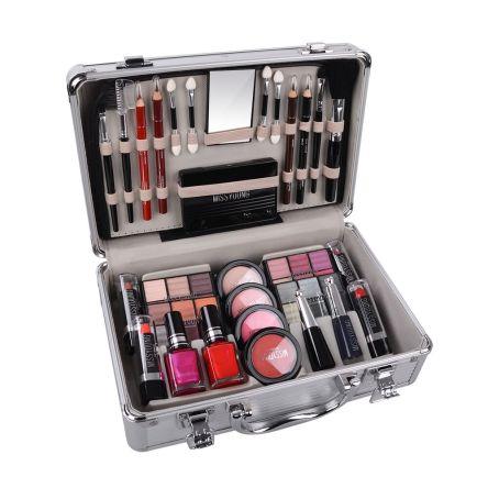 Επαγγελματικό Βαλιτσάκι Μακιγιάζ και Αξεσουάρ Περιποίησης 50 Τεμαχίων – Miss Young Make up Kit