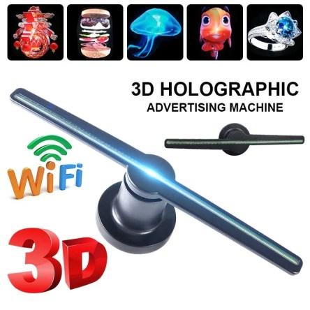 WiFi 3D Hologram 42cm Advertising Display Led Fan A3W