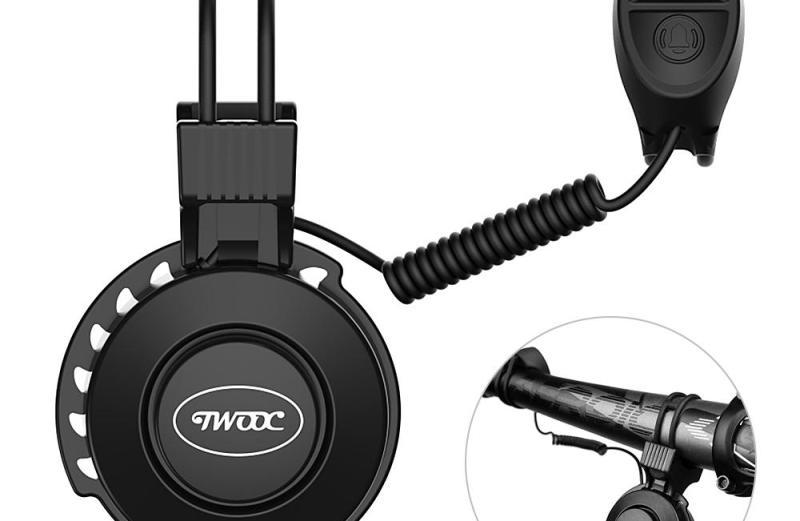 Αδιάβροχη Ηλεκτρική Κόρνα Ποδηλάτου 120db με 4 Διαφορετικούς Ήχους TWOOC T002