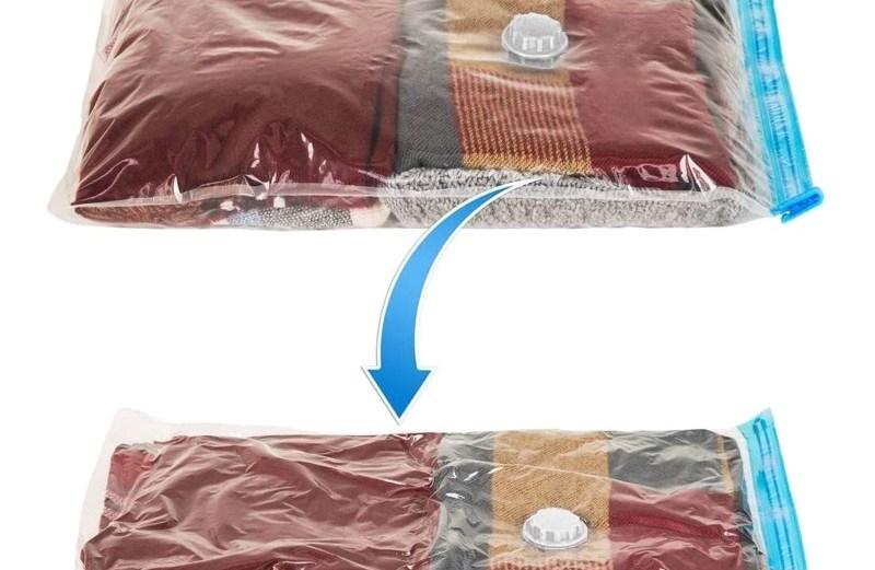 Σακούλα Αποθήκευσης Ρούχων Κενού Αέρος 80x120cm Vacuum Pack