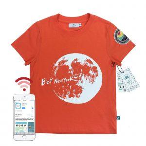 t-shirt front orange