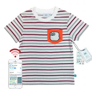t-shirt front stripe