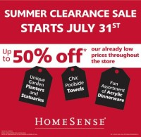 Canadian Deals  HomeSense Summer Clearance Sale ...