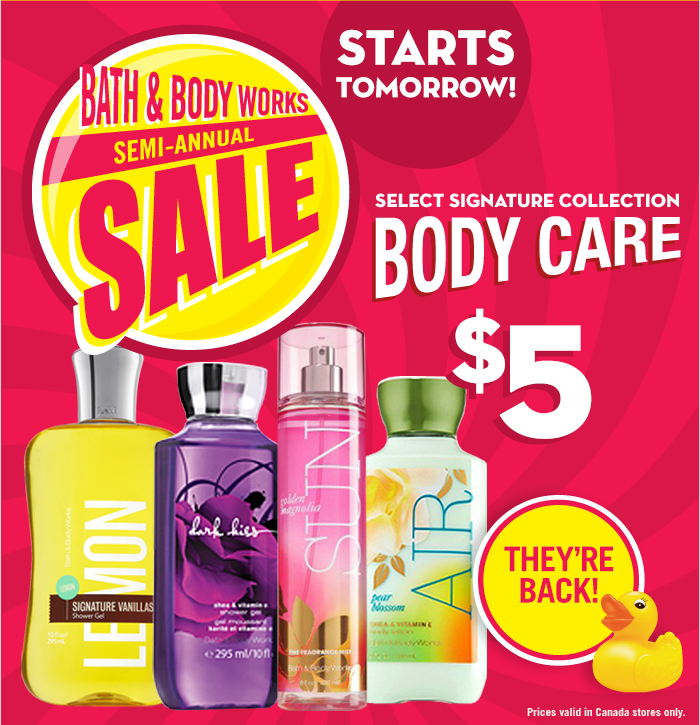 Bath & Body Works Canada Boxing Day/Week Sale & Coupon ...