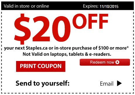 Printable Coupons Save Money At Grocery And Drugstores Staples Copy Print Promo Code Contact Color