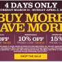 Lowe S Canada Buy More Save More Event Save Up To 15