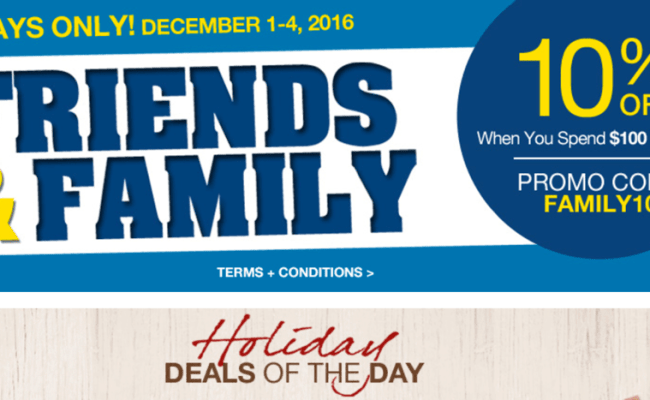 Lowe S Canada Holiday Deals Of The Day Friends Family