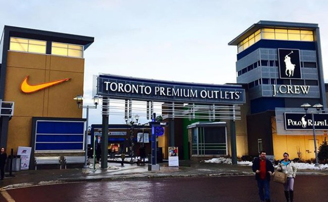 Toronto Premium Outlets Shuttle Bus Schedule Locations